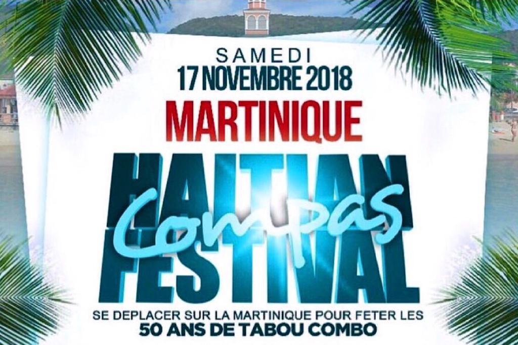 «Haitian Compas Festival» à la Martinique