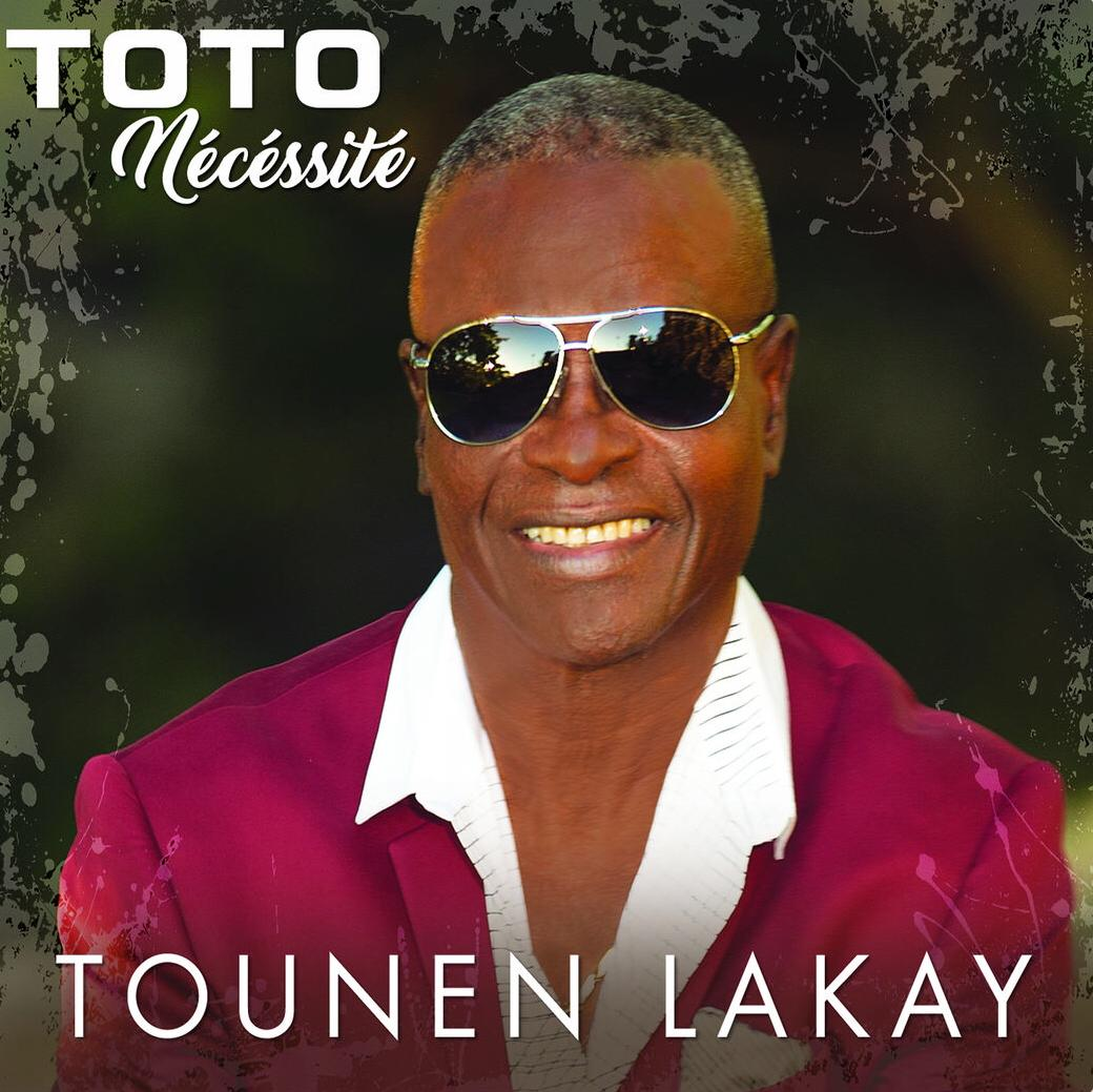 Cover de l'album Tounen Lakay de Toto Nécessité